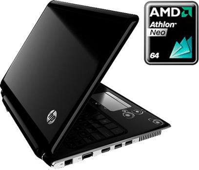 HP Actualizara Laptop Pavilion dv2 con el nuevo Athlon Neo de Dos Nucleos