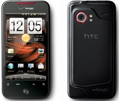 Nuevo, HTC Incredible