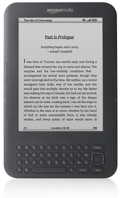 Amazon anuncia nuevo Kindle con versiones WiFi y WiFi+3G