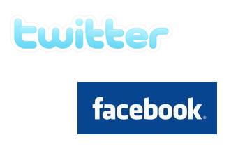 Las redes sociales Facebook y Twitter, casi llegan a mil millones de visitas mensuales
