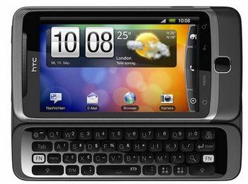 Nuevo HTC Desire Z con Android 2.2