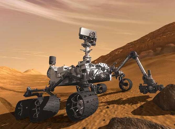 La NASA pone al explorador 'Curiosity' en el suelo de Marte
