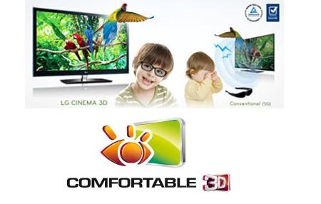Televisores 3D de LG con gafas