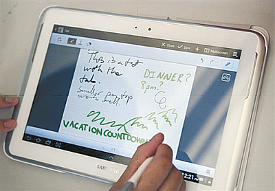 Galaxy Note, la potente tablet de Samsung