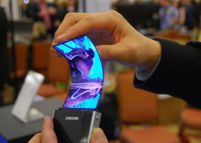 Pantalla flexible de Samsung aparecerá en el 2013