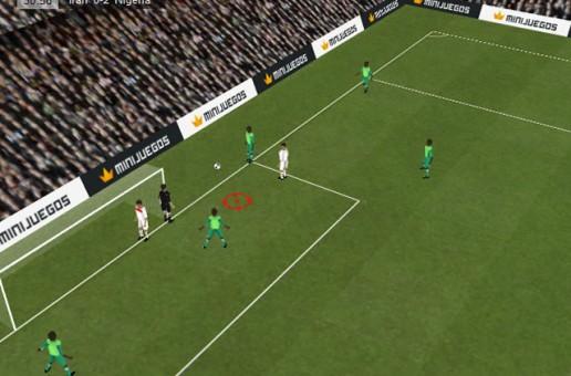 Elige los mejores minijuegos de fútbol online